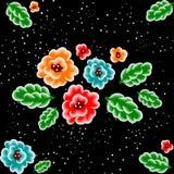 Nahtloses mit Blumenmuster Stockbilder