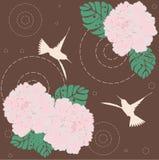 Nahtloses mit Blumenmuster Stockfotografie