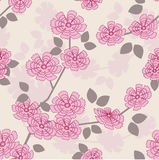 Nahtloses mit Blumenmuster Lizenzfreie Stockfotografie