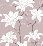 Nahtloses mit Blumenmuster Lizenzfreies Stockfoto