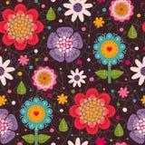 Nahtloses mit Blumenmuster. Stockbild