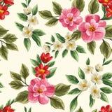 Nahtloses mit Blumenmuster Lizenzfreie Stockbilder