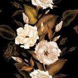 Nahtloses mit Blumenmuster Lizenzfreie Stockfotos