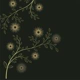 Nahtloses mit Blumenmuster Auch im corel abgehobenen Betrag Lizenzfreie Stockfotos