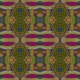 Nahtloses mit Blumenmuster der Geometrieweinlese Lizenzfreie Stockbilder