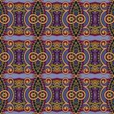 Nahtloses mit Blumenmuster der Geometrieweinlese Lizenzfreies Stockbild