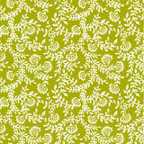 Nahtloses mit Blumenmuster der Weinlese lizenzfreie abbildung