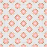 Nahtloses mit Blumenmuster des abstrakten Vektors Stockfotografie