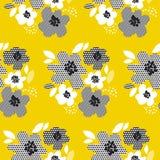 Nahtloses mit Blumenmuster des tropischen Sommerkonzeptes Lizenzfreie Stockfotografie