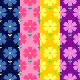Nahtloses mit Blumenmuster Fahne der Blumen-Background lizenzfreie abbildung