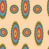Nahtloses mit Blumenmuster - Illustration Stockbild
