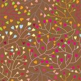 Nahtloses mit Blumenmuster im Vektor Stockfotos