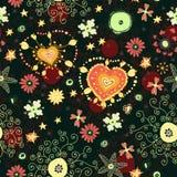 Nahtloses mit Blumenmuster mit Blumen Lizenzfreies Stockbild