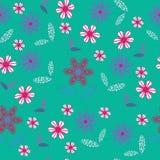 Nahtloses mit Blumenmuster. Nahtloses Muster kann u sein Lizenzfreies Stockfoto