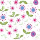 Nahtloses mit Blumenmuster. Nahtloses Muster kann u sein Stockbilder