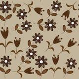 Nahtloses mit Blumenmuster. Nahtloses Muster kann u sein Lizenzfreie Stockfotos