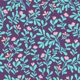 Nahtloses mit Blumenmuster Nettes Blumen Farbe-bakground Stockbild