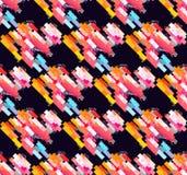 Nahtloses modernes geometrisches Muster Lizenzfreie Stockfotografie