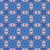 Nahtloses modernes helles Mosaikkaleidoskopmuster Stockfotografie