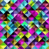 Nahtloses Mosaikmuster. Lizenzfreie Abbildung