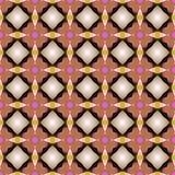 Nahtloses Muster Abstrack-Hintergrundes Lizenzfreie Stockfotos