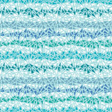 Nahtloses Muster abstrakter Eis chrystals Beschaffenheit Lizenzfreie Stockbilder