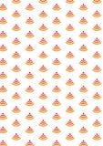 Nahtloses Muster abstrakter Hintergrund Ikone des drahtlosen Netzwerks Der Verbinder der HF-Ausrüstung Ikonenzone des drahtlosen  Lizenzfreie Stockfotos