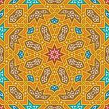 Nahtloses Muster acht Taza Stockbild