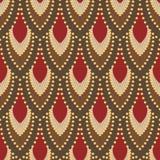 Nahtloses Muster in Art Deco-Art 5 Lizenzfreies Stockbild