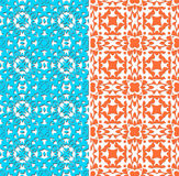 nahtloses Muster a auf weißem Hintergrund Lizenzfreies Stockfoto