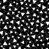 Nahtloses Muster, Beschaffenheit mit gelegentlichem, zerstreute Formen Stockbild