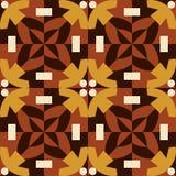 Nahtloses Muster Browns gemacht von den Mannzahlen. Lizenzfreies Stockfoto