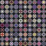 Nahtloses Muster Dekorative Elemente der Weinlese Hand gezeichneter Hintergrund Islam, Arabisch, Inder, Osmanemotive Vervollkommn vektor abbildung