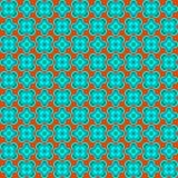 Nahtloses Muster der abstrakten Blume Stockbild
