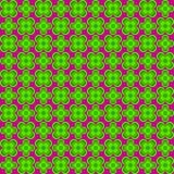 Nahtloses Muster der abstrakten Blume Stockfotografie