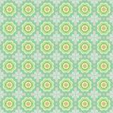 Nahtloses Muster der abstrakten Blumen stock abbildung