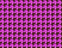 Nahtloses Muster der abstrakten Blumenform Vektor Abbildung