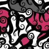 Nahtloses Muster der abstrakten Fantasie Stockbilder