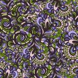 Nahtloses Muster der abstrakten Fantasie vektor abbildung