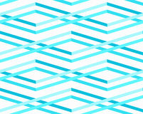 Nahtloses Muster der abstrakten Meereswellen Lizenzfreie Stockbilder