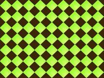 Nahtloses Muster der abstrakten quadratischen Form Stock Abbildung