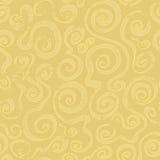 Nahtloses Muster der abstrakten Sandspirale Stockfoto