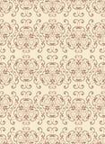 Nahtloses Muster der abstrakten Weinlese. Stockfotografie