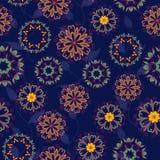 Nahtloses Muster der Arabeske Stockbilder