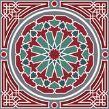 Nahtloses Muster der Arabeske Lizenzfreies Stockbild