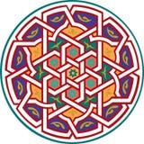 Nahtloses Muster der Arabeske Stockbild