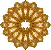Nahtloses Muster der Arabeske Stockfotografie