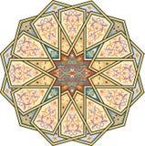 Nahtloses Muster der Arabeske Stockfoto