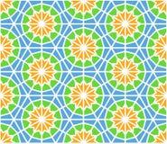Nahtloses Muster der Arabeske in der editable Vektordatei Stockfotografie