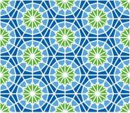 Nahtloses Muster der Arabeske in der editable Vektordatei Stockfoto